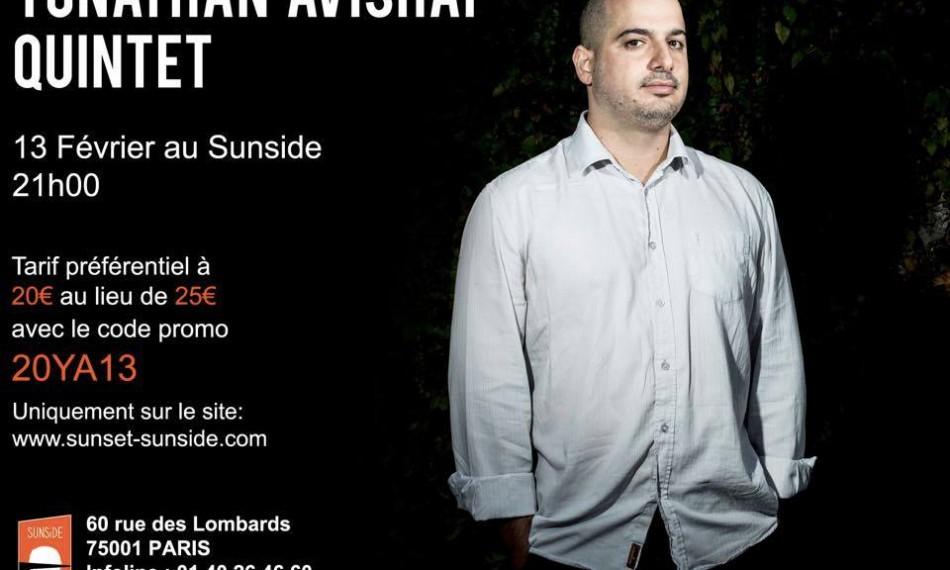 Yonathan Avishai Quintet au Sunside le 13 février 2016